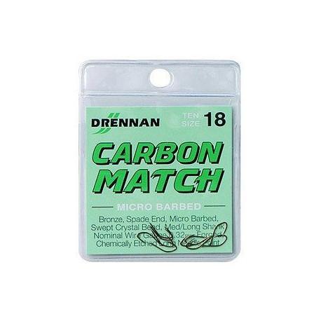 Kabliukai Drennan Carbon Match