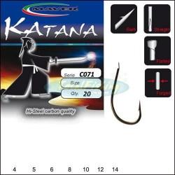 Kabliukai Maver AMI Katana Evolution Carbon 20vnt