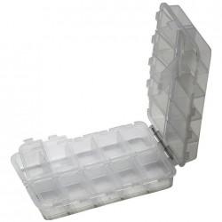 Plastikinė dėžutė 20 skyrių
