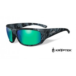 Akiniai Wiley X OMEGA Polarized Emerald Mirror Kryptek® Neptune™