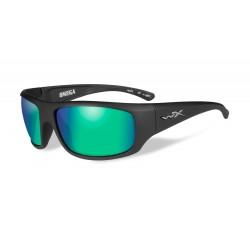 Akiniai Wiley X OMEGA Polarized Emerald Mirror Kryptek® Neptune™ Frame