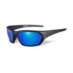 Akiniai Wiley X IGNITE Polarized Blue Mirror Matte Black Frame