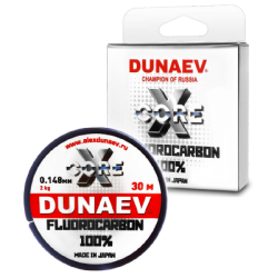 Valas Dunaev Fluorocarbon XCore 30m.