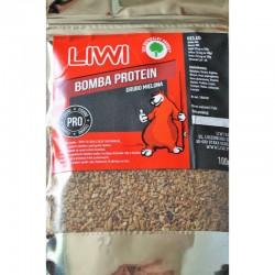 Liwi Bomba Proteina, stambiai maltos musės lervos